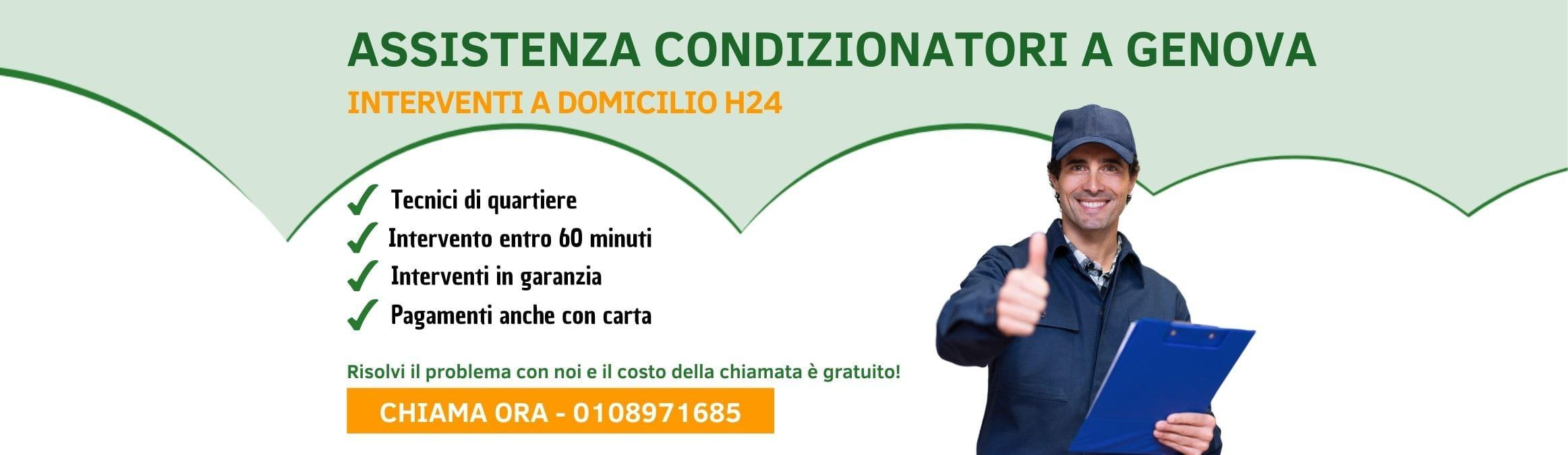 Assistenza Condizionatori e Climatizzatori Genova